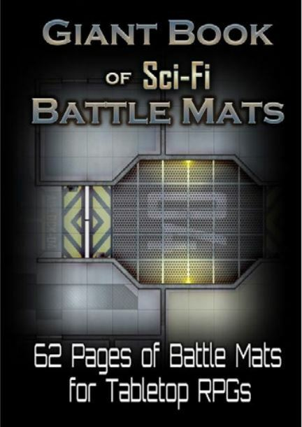 Giant Book of Sci Fi Battle Mats - RPG Accessory