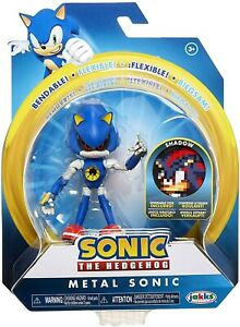 Action Figure Sonic The Hedgehog Metal Sonic