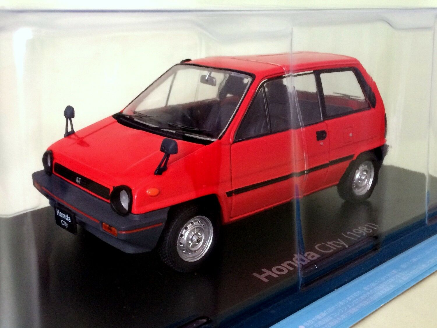 Honda City (1981) 1st gen. AA Die-cast  Model - 1 24 Hachette Japanese voitures (38)  rentable