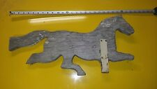 Antique Vintage Collectible Wood Horse Weathervane Windvane 1900's Barn Folk art