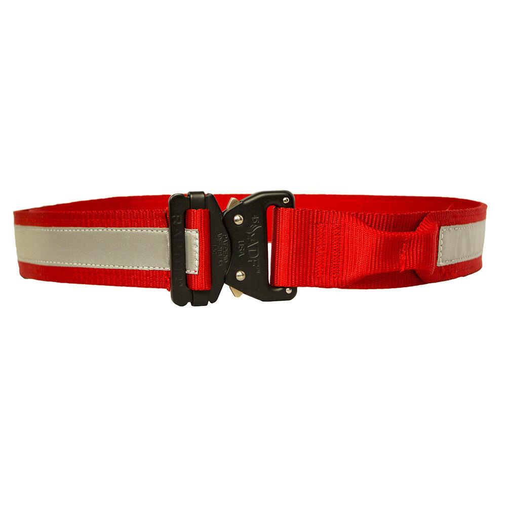 Fusion Tactical Hi-Vis Reflective Belt Type B Red X-Large 43-48  1.75