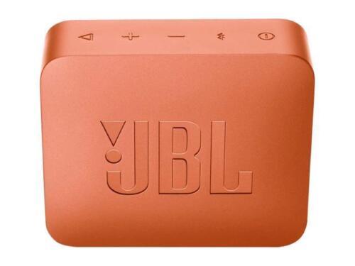 Orange JBL GO 2 Portable Bluetooth Waterproof Speaker