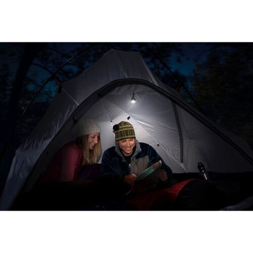3-Pack Nite Ize MoonLit LED Micro Lantern White w//Carabiner Clip Tent Light