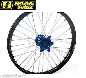 Roue-Arriere-Haan-Wheels-18-X-2-15-X-36T-Jante-Noire-Moyeu-Bleu-Sherco-4717