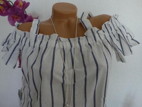 Oliver Femmes Chemisier Shirt Tunique Taille 34 à 44 rayé NEUF 111 S