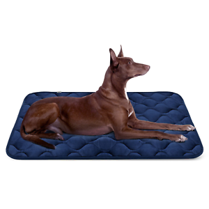 Hero Dog Large Dog Bed Mat 42 Inch Crate Pad Anti Slip Mattress Washable for L