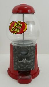 "Jelly Belly Jelly Bean Candy Machine GumBall Dispenser 9"" in Small Desk or Table 