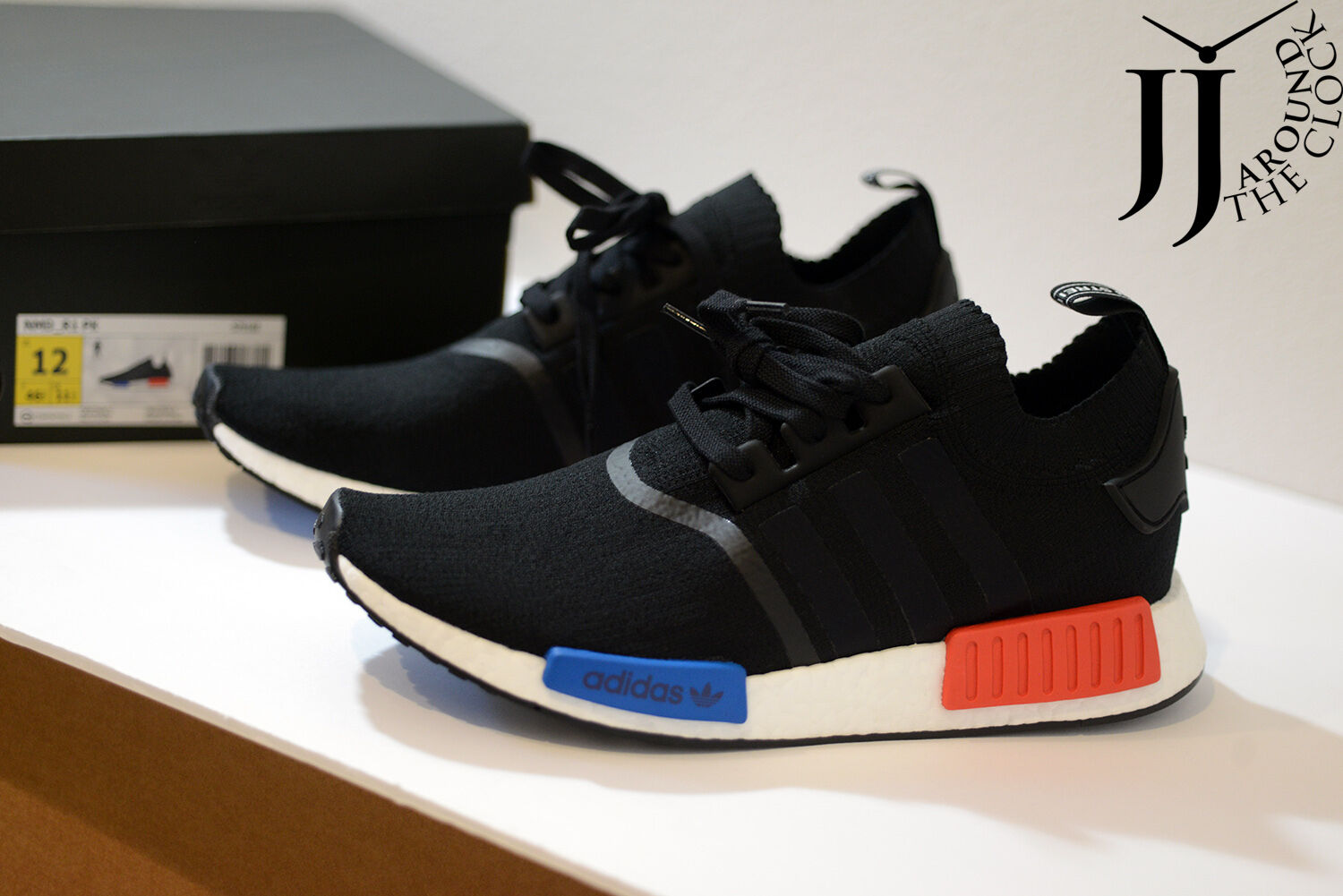 New ADIDAS NMD Core Runner PK OG Primeknit Core NMD Black Nomad 12 US S79168 2017 Ver a06edf