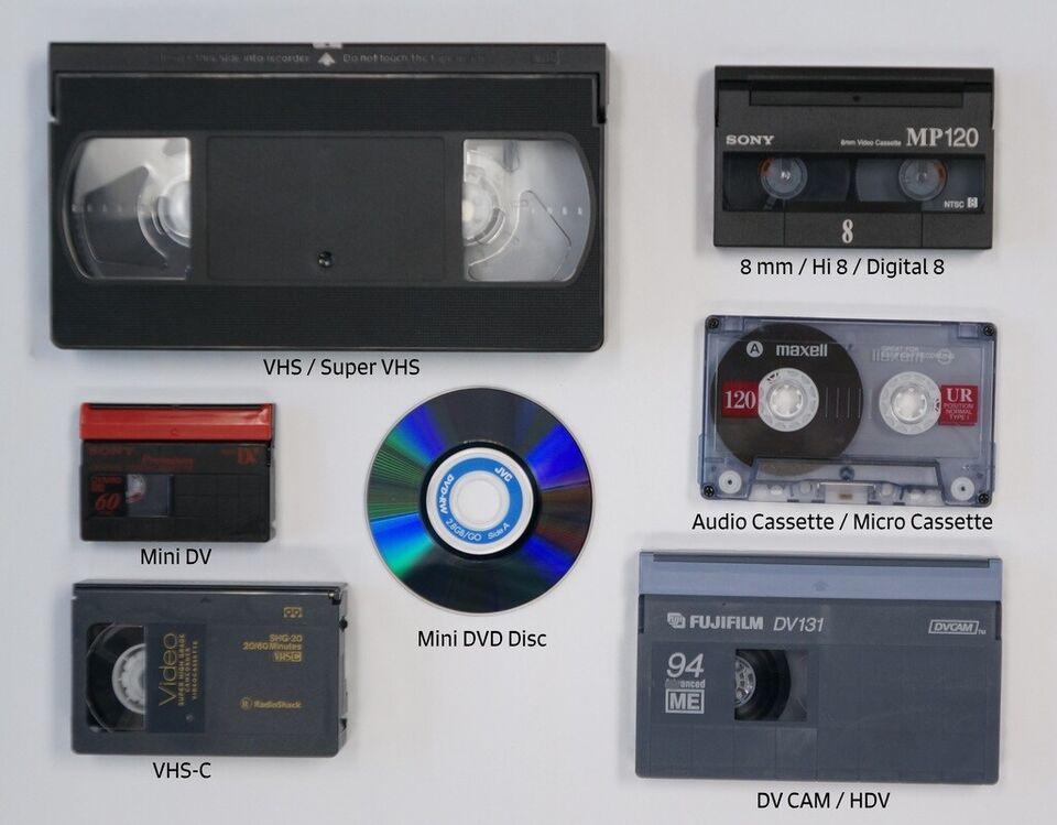 Alle VHS bånd digitaliseres