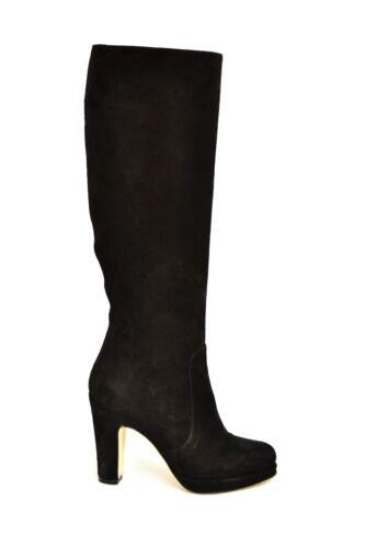 35 100 Pelle Stivali Donna In Artigianali Camoscio Italy Made Vera Nero qIPHFtOHw