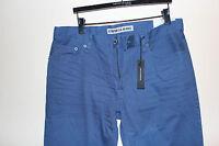 Mens Express Brand Jeans Blue Precision Classic Fit Straight Leg 34x32 Kingston
