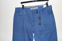 Mens Express Brand Jeans Blue Precision Classic Fit Straight Leg 34x32 Kingston