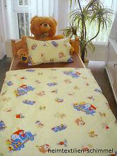 Renforcé Kinder Bettwäsche Kinderbettwäsche ZUG Bettbezug LOKOMTIVE 100x135cm