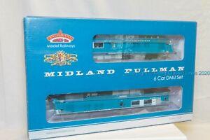 Bachmann-31-255DC-OO-Gauge-Midland-Pullman-6-car-unit-Nanking-Blue