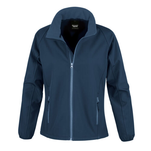 R231F Result Core Ladies Printable Softshell Jacket Water Repellent Breathable