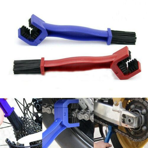 Gear Brush Motorcycle Bicycle Chain Cycling Chain Cleaner Scrubber Portable Tool