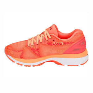 Asics GEL-Nimbus 20  T850N-700  Women Running Shoes Flash Coral ... 5b04fc26e4f7