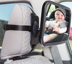 Baby Mirror Back Car Seat Cover for Infant Child Toddler Rear Ward ...
