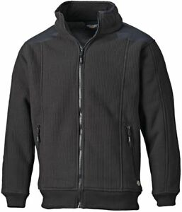 Dickies Through Nera Giacca Eisenhower Con Pile Pullover Zip Uomo In Eh89001 rxH1qSwrg