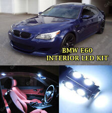 BMW SERIE 5 e60 Canbus Interni LED Bianco puro 19 PZ Upgrade Luce Kit Set