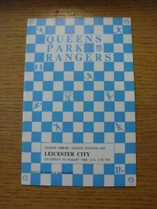 10081968 Queens Park Rangers v Leicester City  No apparent Faults - Birmingham, United Kingdom - 10081968 Queens Park Rangers v Leicester City  No apparent Faults - Birmingham, United Kingdom