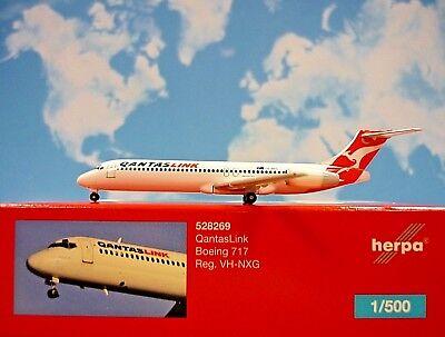 Herpa Wings 1:500 Herpa 528269 Qantas Link B717 VH-NXG