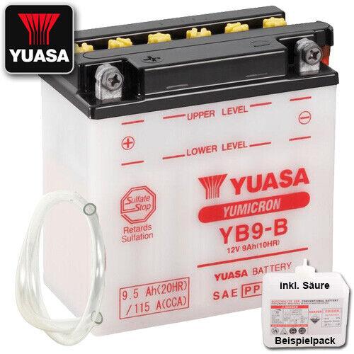Batterie Piaggio//Vespa Liberty 50 2 T ZAPC 42 Année de construction 2007 Yuasa yb9-b