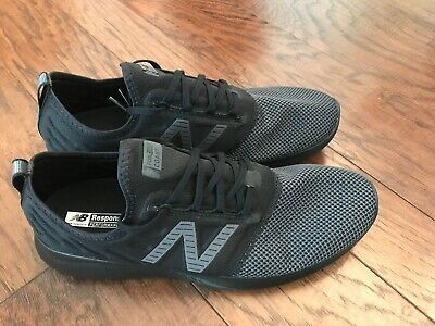 1c3cfbda11490 NEW Men's New Balance FuelCore Coast v4 Running Shoes Black Grey Size 11.5  | eBay