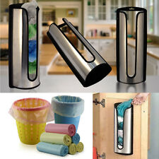 Stainless Steel Plastic Carrier Bag Storage Holder Dispenser Recycle Bags