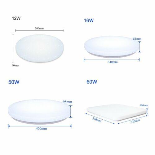 12-60W LED Deckenleuchte Sternenhimmel schönes Wandlampe Starlight-Design Lampe