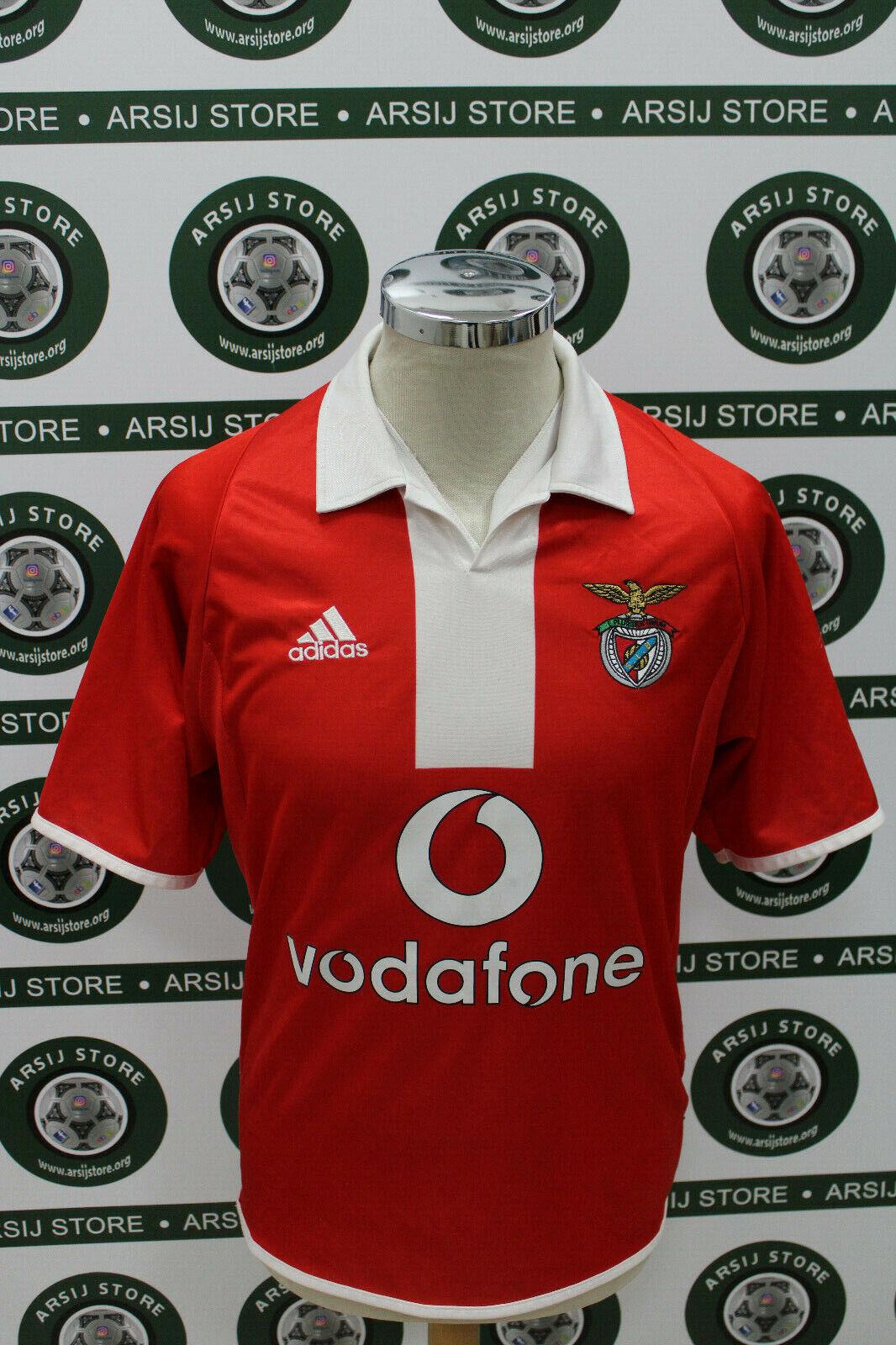 Maglia calcio shirt maillot camiseta trikot SIMAO BENFICA TG S 2003-04