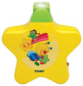 Tomy-2008-Starlight-Dreamshow-Baby-039-s-Cot-Mobile-Kids-Night-Light-Newborn-Yellow