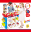 Childrens-Kids-Sweet-amp-Dessert-Shop-Counter-Role-Play-Set-40-Pieces-Toy-Food-253 thumbnail 1