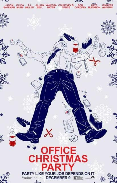Buy Office Christmas Party 2016 11x17 Movie Poster Online Ebay