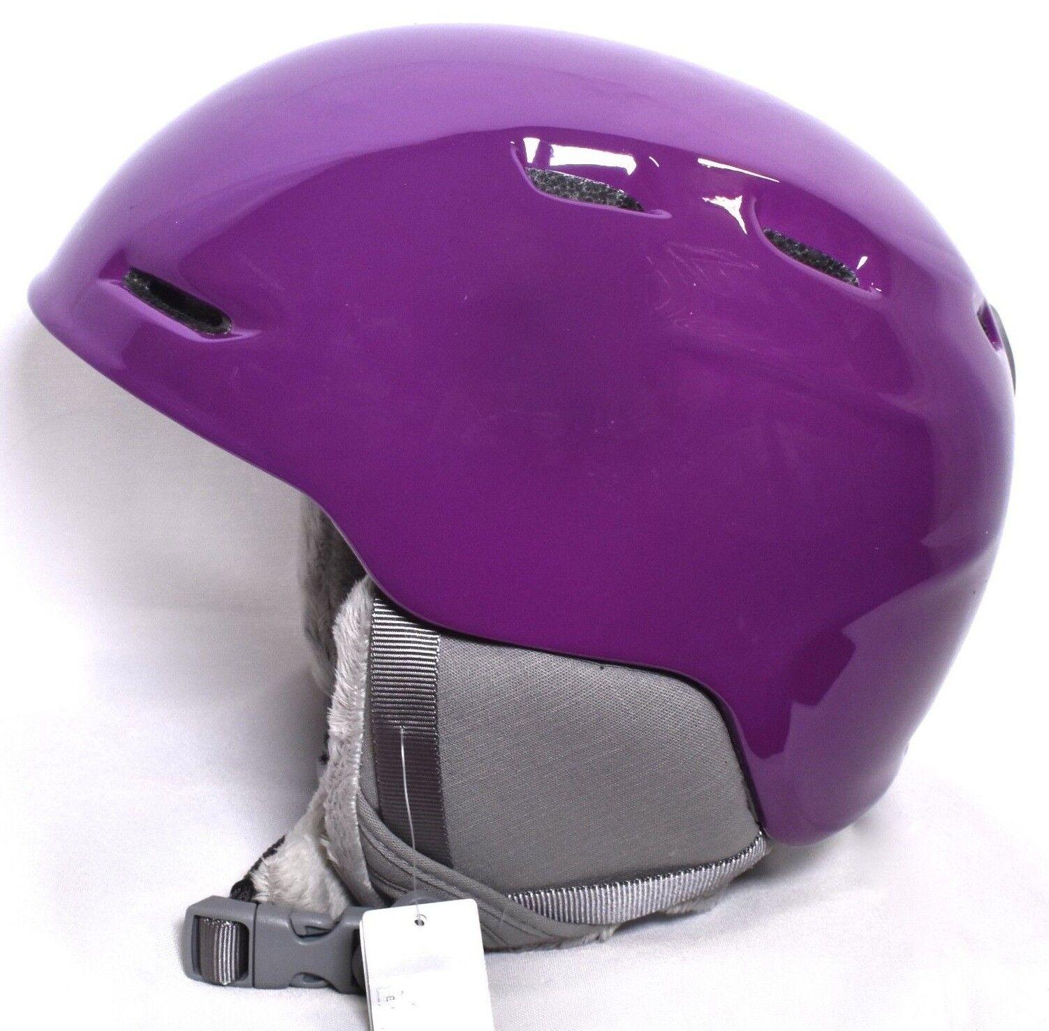 SMITH Zoom JR Junior Snow Sports Helmet (Youth Sz M 53-58 cm) Monarch Purple NEW