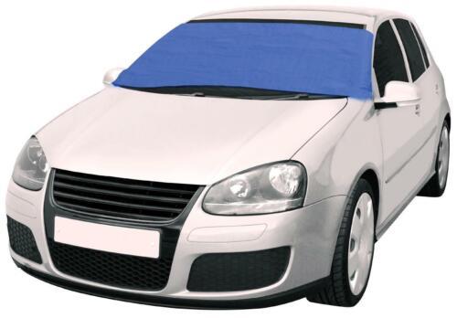 Halfords coche furgoneta Frost Protector Protector De Escudo De Viento De Invierno Cubierta De Ventana-Azul Oscuro