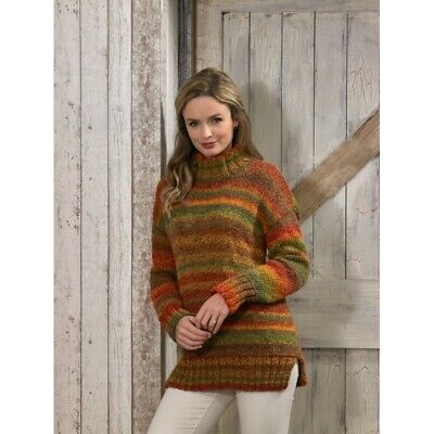 Knitting Pattern James C Brett JB489 Chunky Jumper
