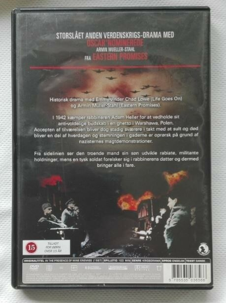 In The Presence of my Enemies, DVD, drama