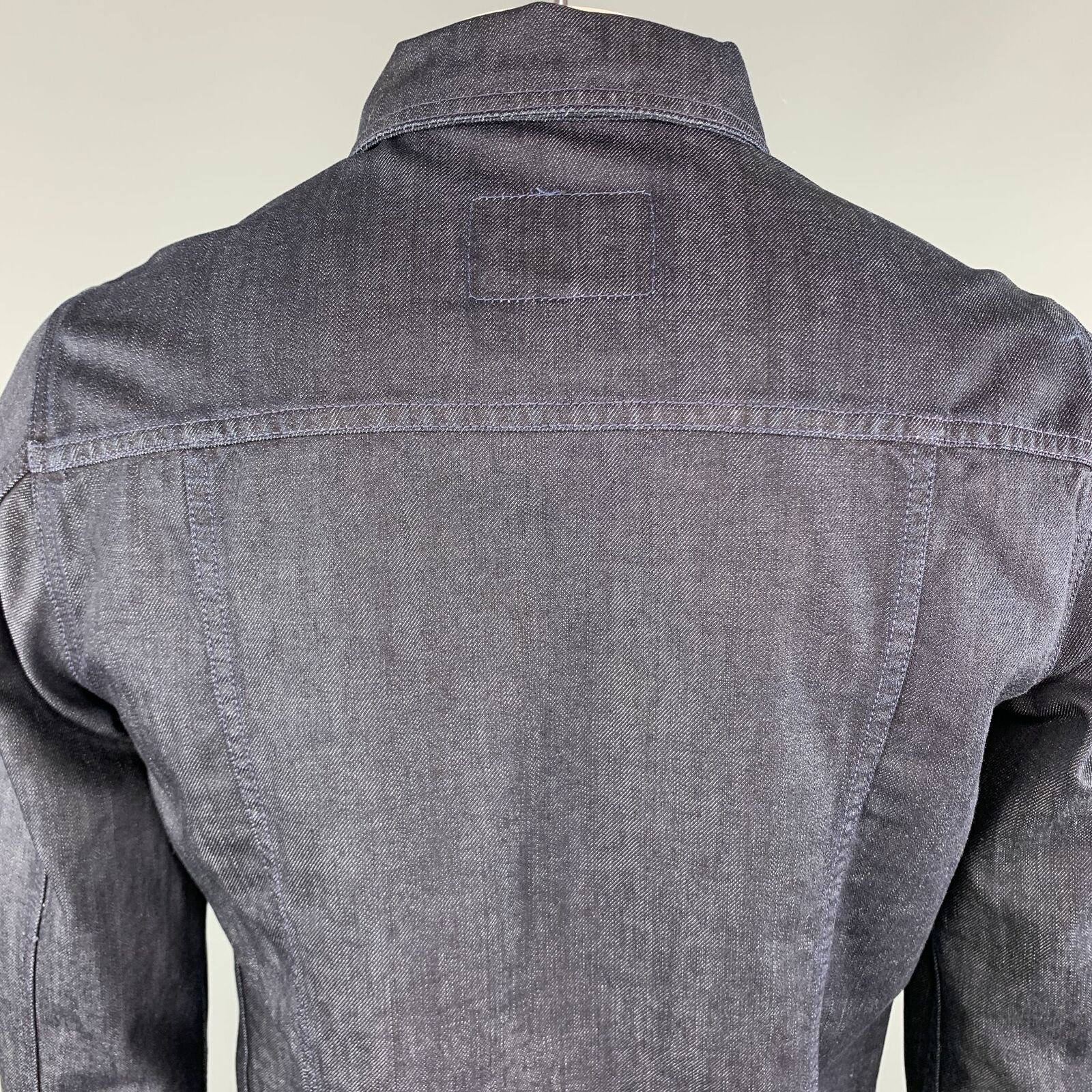 ADRIANO GOLDSCHMIED Size L Indigo Denim Cotton Sn… - image 5