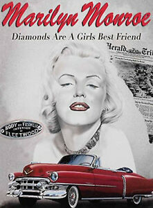 50-039-s-STYLE-AMERICAN-DINER-SIGN-RETRO-WALL-PLAQUE-KITCHEN-PICTURE-MARILYN-MONROE