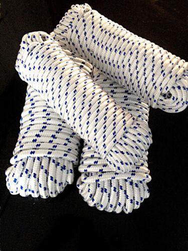 Weiß Reepschnur,Seile,Bootsleine,Bänder,Leine 30m Polypropylenseil 4-16 mm