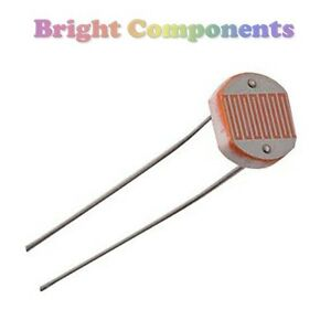10x Light Dependent Resistor GL5528 (LDR / Photoresistor) - 1st ...