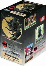 Batman Ninja Booster Box New Weiss Sealed Weiss Schwarz Sealed Products