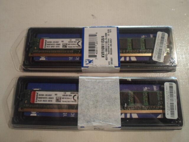 Kingston - DDR3 -1600 - 8GB - 2 x 4 GB - PC3-12800 - - - NEU !!!