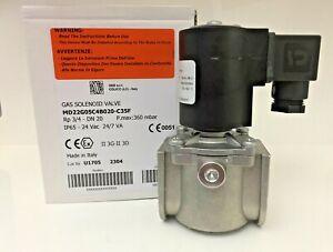 "elettrovalvola 12v cc 3//4/"" gas metano gpl riarmo manuale normalmente aperta"