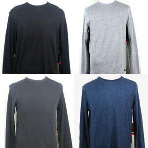 Puma Lounge Top Sweatshirt Lightweight Long Sleeve Crew neck Gray/Black L M XL
