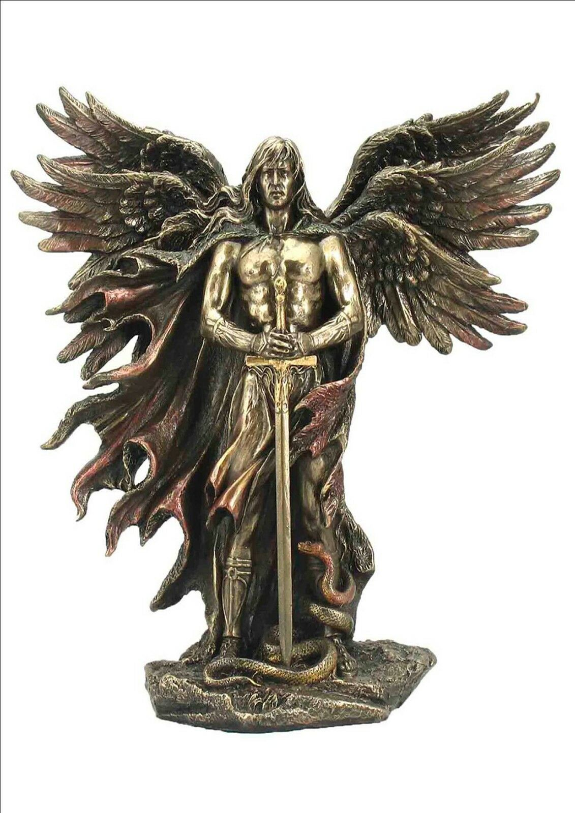 Erzengel Metatron König der Engel Figur Skulptur Statue bronziert 708-5976