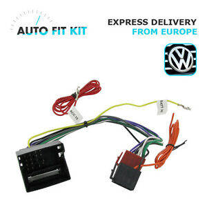 car stereo wiring harness adapter for vw    vw    2004  gt     wiring    lead    harness       adapter    iso    car    radio    stereo        vw    2004  gt     wiring    lead    harness       adapter    iso    car    radio    stereo