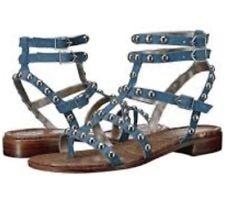 08adccacaafe item 1 Sam Edelman EAVAN  175 Gladiator Blue Leather Sandals Silver Studs  Size 9 NEW -Sam Edelman EAVAN  175 Gladiator Blue Leather Sandals Silver  Studs ...