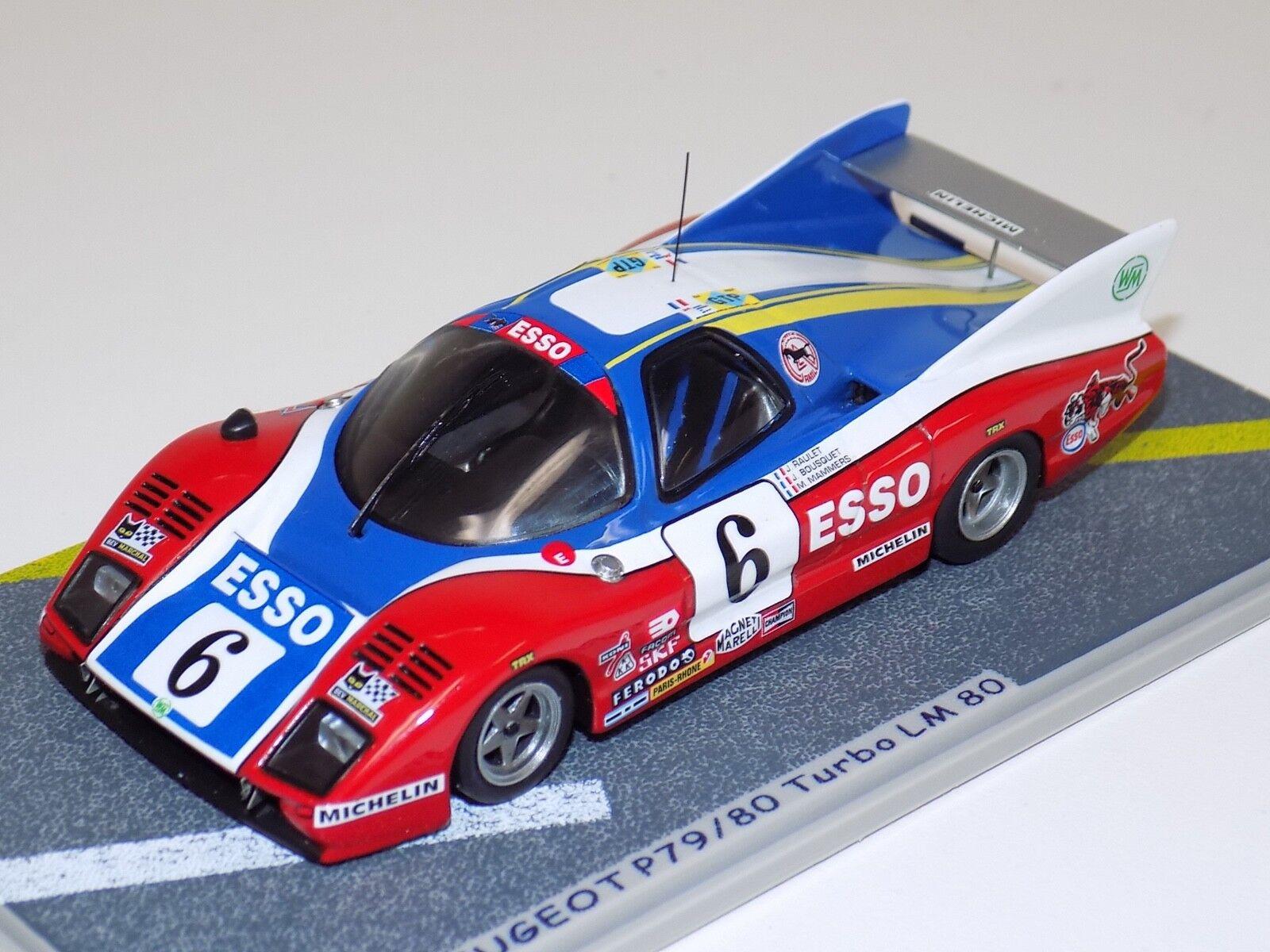 1 43 Bizarre Peugeot P79 80 Turbo Voiture  6 de 1980 24 H LeMans BZ029